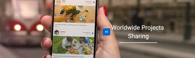 Worldwide Projects Sharing, App coming soon.