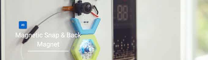 Magnetic Snap & Back Magnet