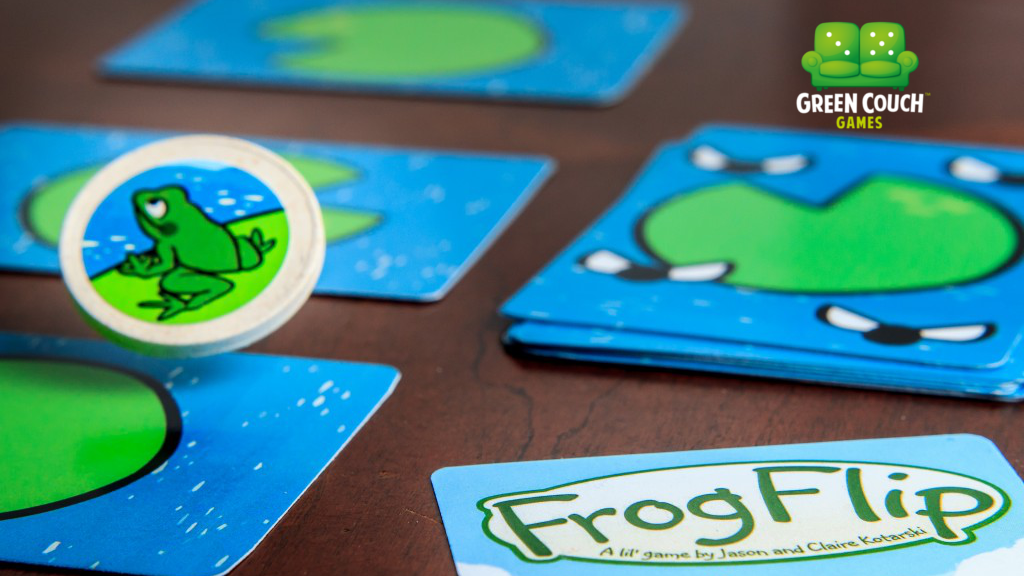 Green Couch Games Limited: FrogFlip! project video thumbnail
