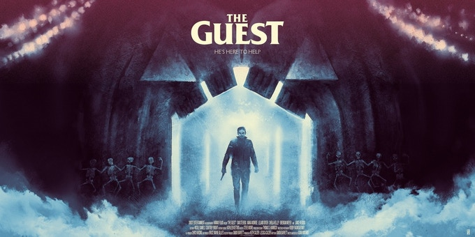 """The Guest"" Variant Print by Karl Fitzgerald"