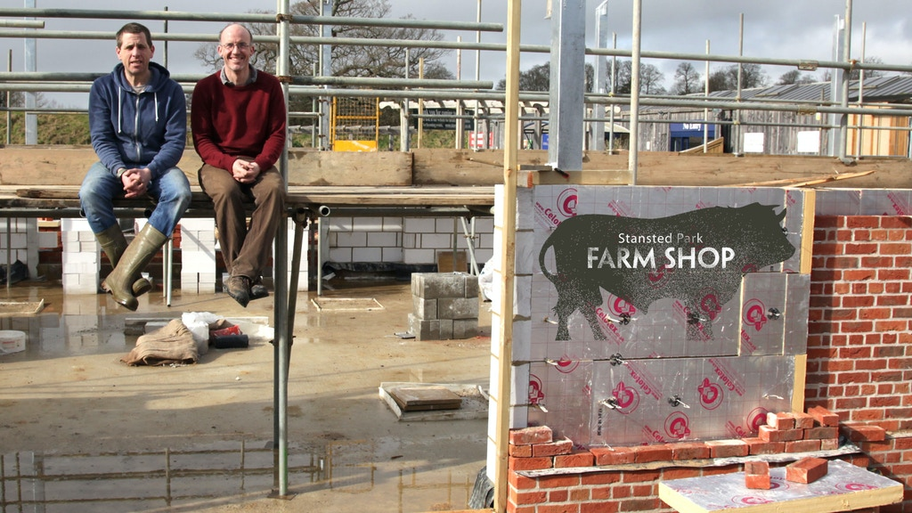 New Farm Shop Food Hub, Butchery, Kitchen and Event Space project video thumbnail