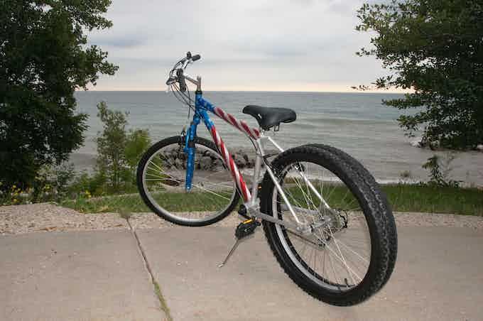 Dually 26 inch Custom Paint Bike