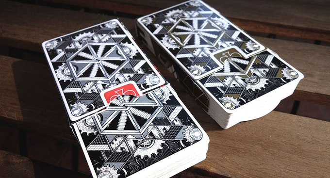 Bicycle Dream Playing Cards (Silver & Gold)