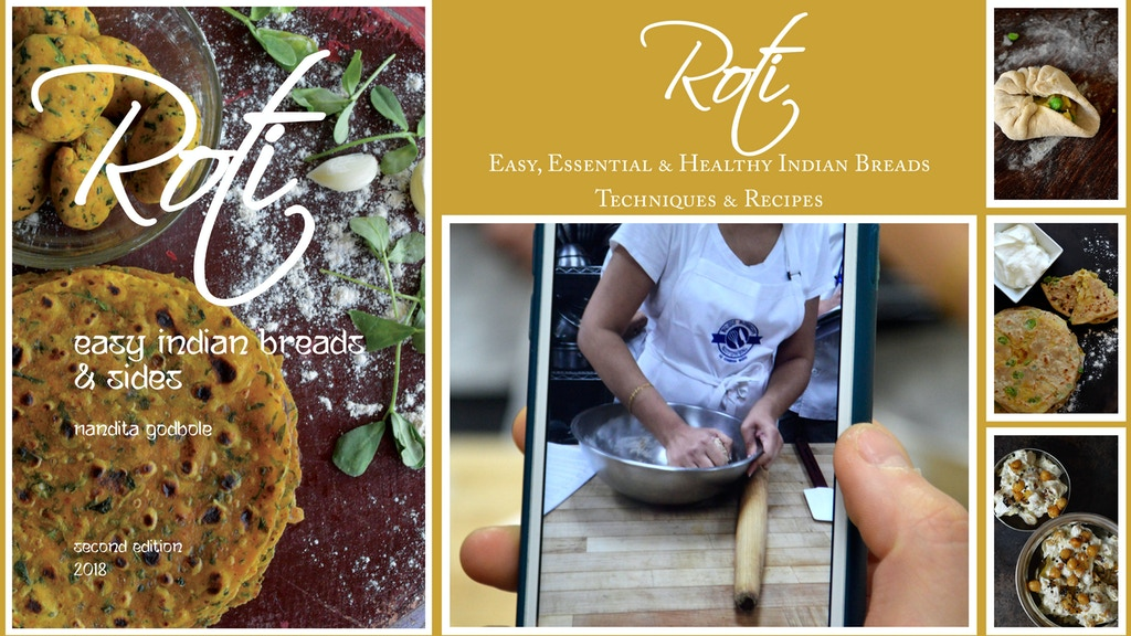 Roti: Easy Indian Breads & Sides, Second Ed. project video thumbnail