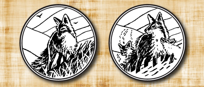 this new Doug Keith design will be made into a gold-finished token