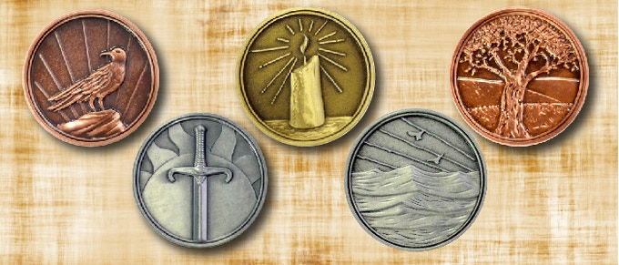 The token will be manufactured by Campaign Coins, makers of the original Fall of Magic Tokens
