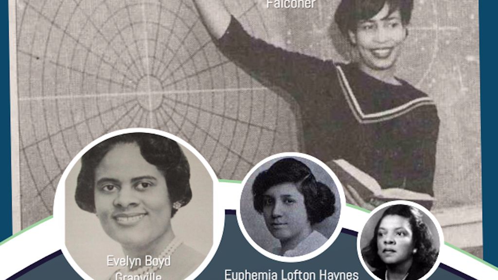 African American Women Mathematicians Activity Book project video thumbnail