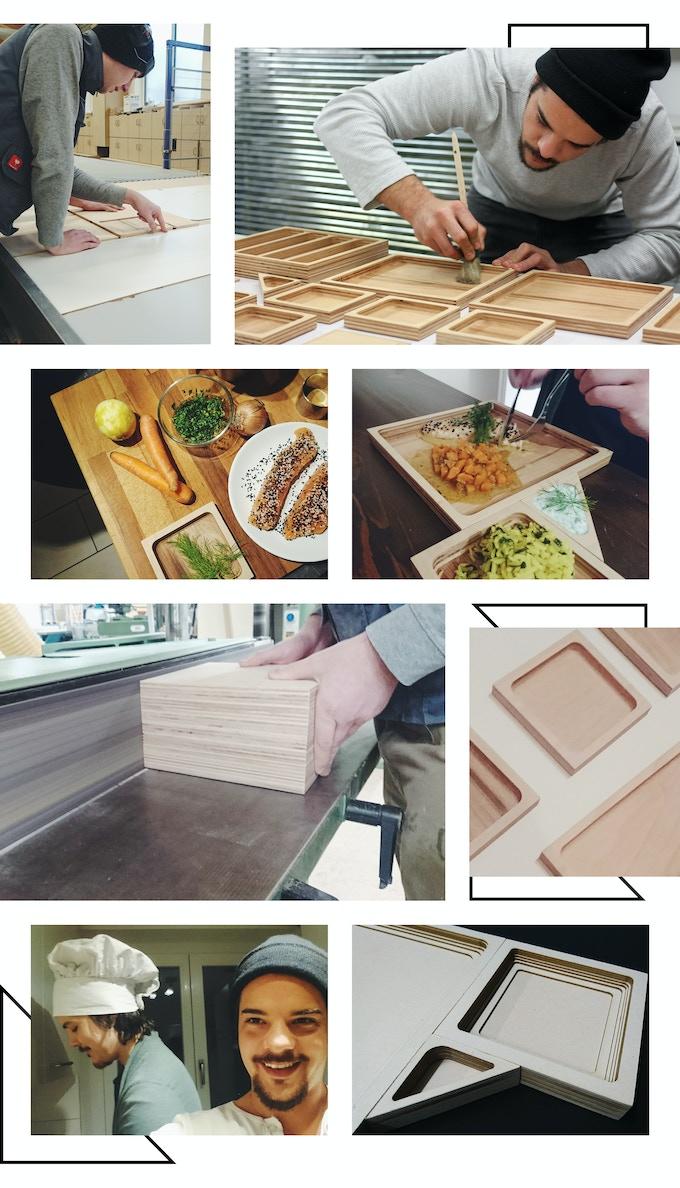 square dish by michael reiner kickstarter. Black Bedroom Furniture Sets. Home Design Ideas