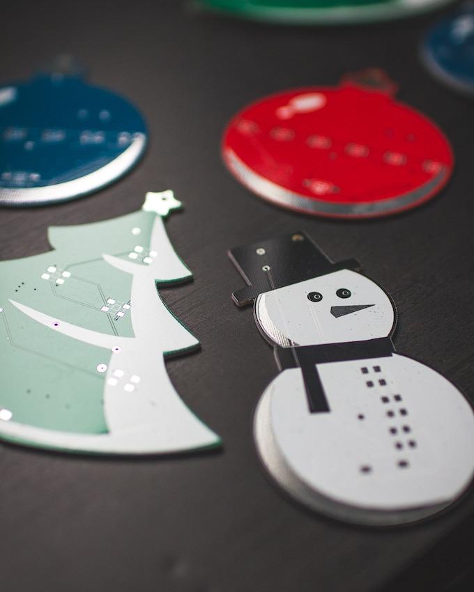 ESP8266 Christmas Ornament