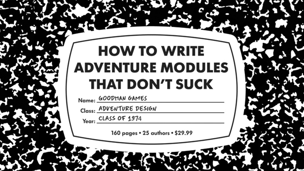 How to Write Adventure Modules That Don't Suck project video thumbnail