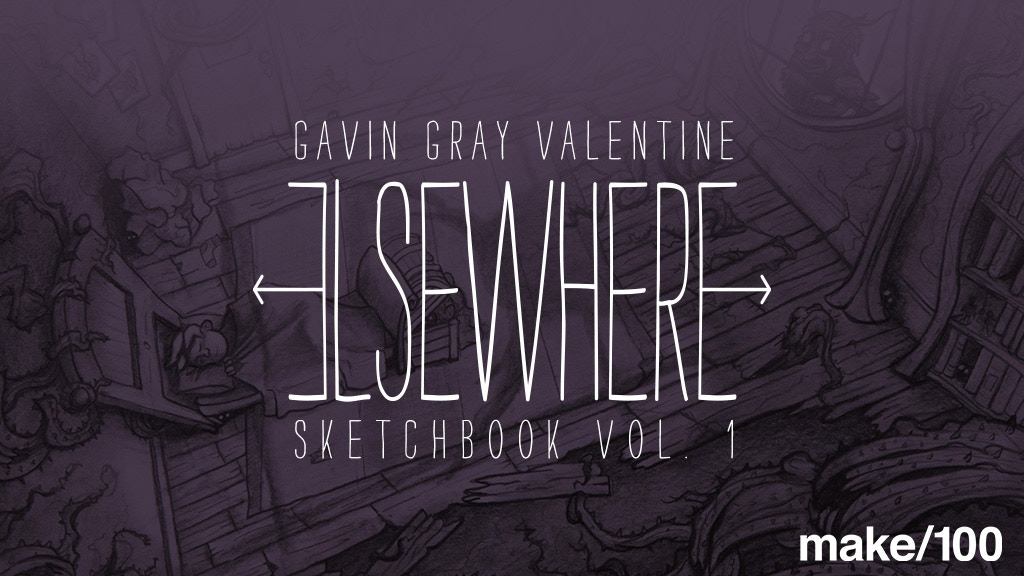 Elsewhere - Sketchbook Vol. 1 - Make 100 project video thumbnail