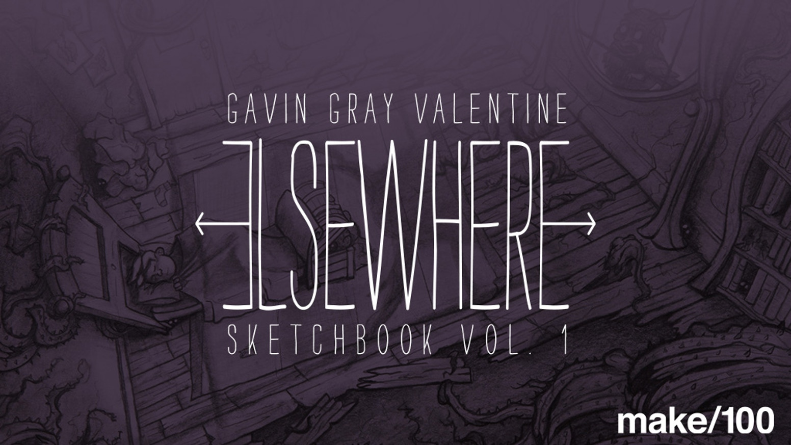 A limited edition collection of sketches from my first years as a professional illustrator.