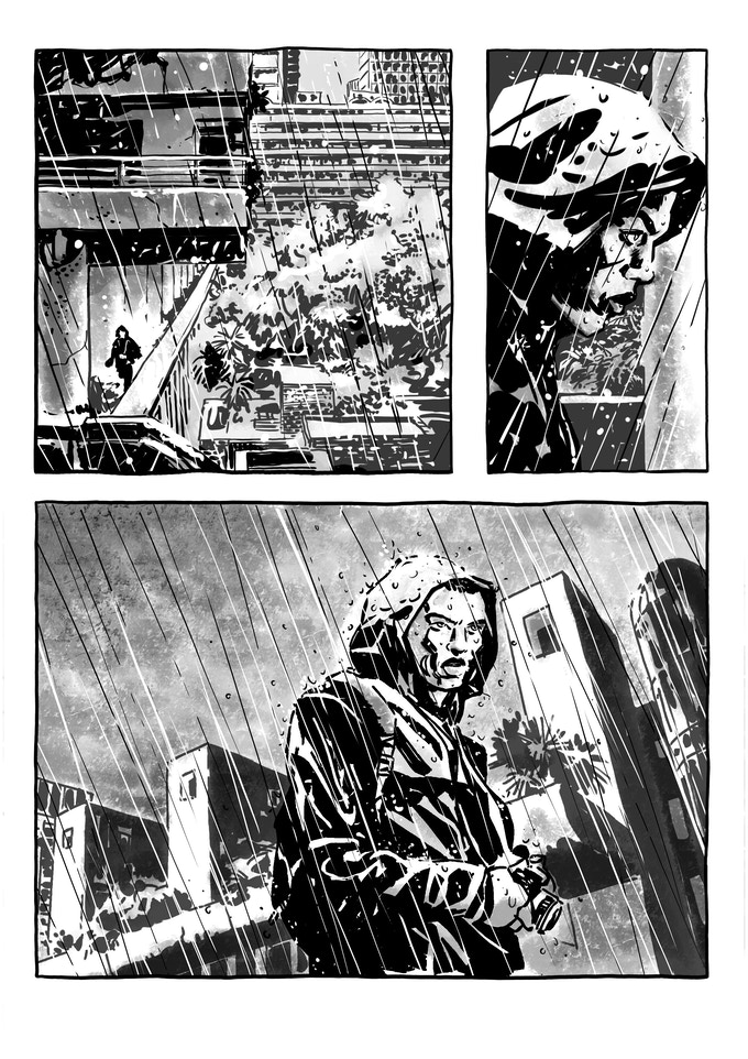 Rain Catcher storyboard