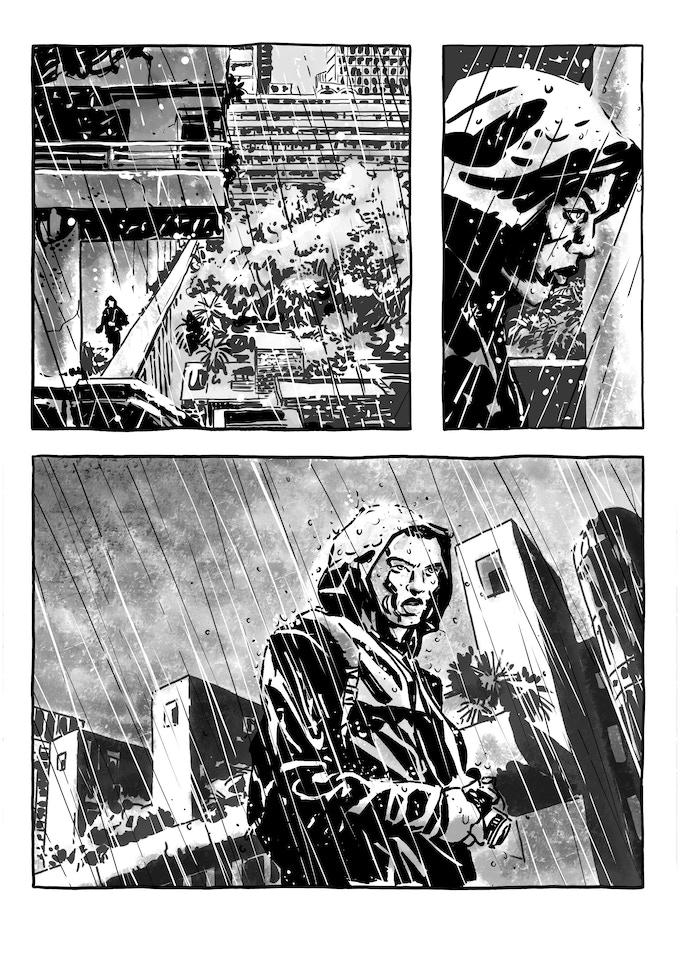 Rain Catcher storyboard