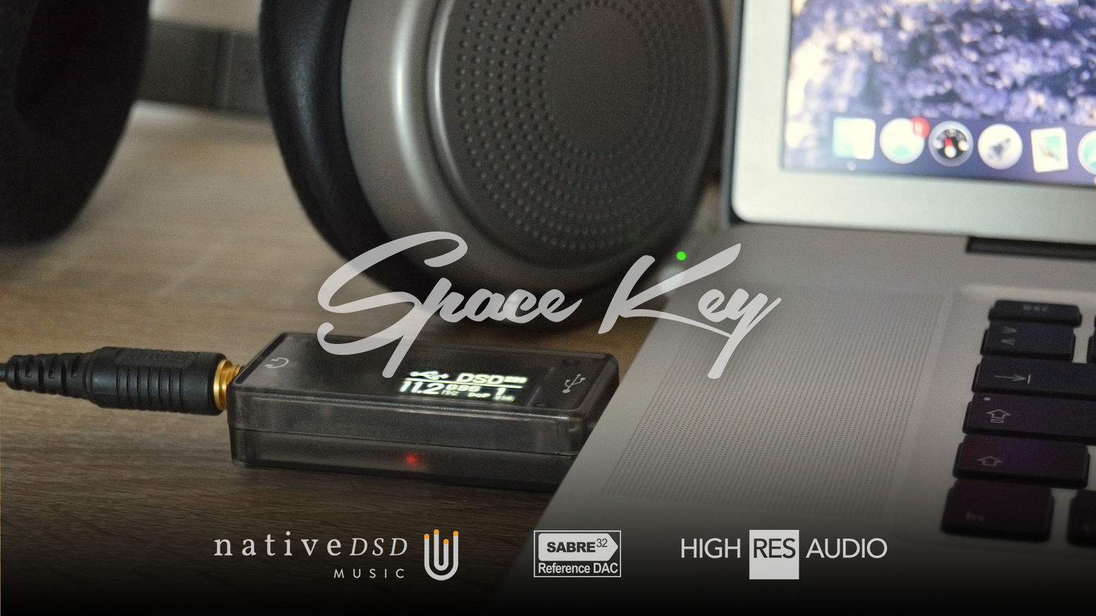 Space Key - ESS Sabre32 DSD/DXD USB DAC by MAGIC PIXEL Team