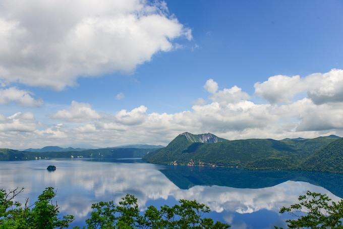 Lake Mashu in Hokkaido, Japan