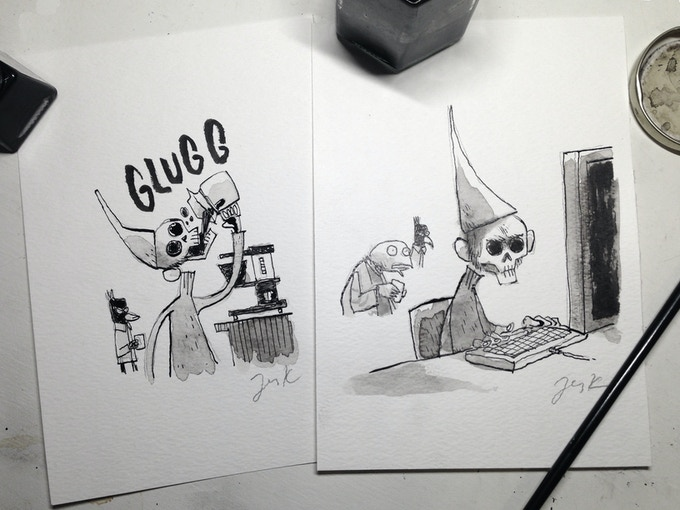 """Want one of these? Get the """"Dunce#1 w/original"""" pledge!"""