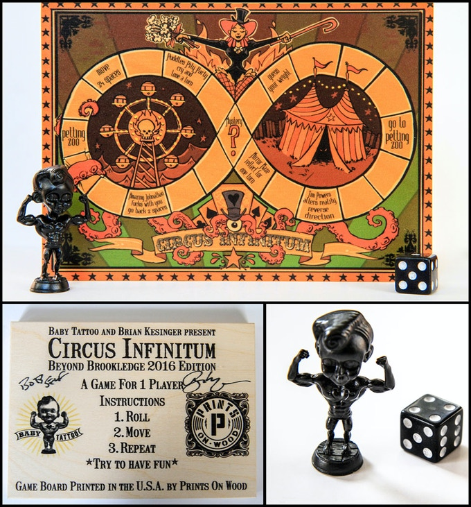 OctoMatch + Circus Infinitum Solitaire Board Game