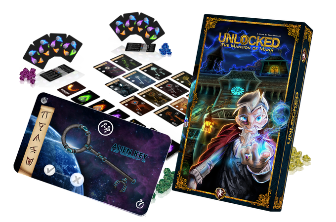 Unlocked The Mansion Of Mana By Sean Howard Kickstarter - Mansion design games