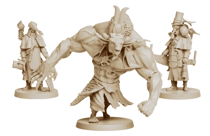 The mighty Moloch and The Cult Agents