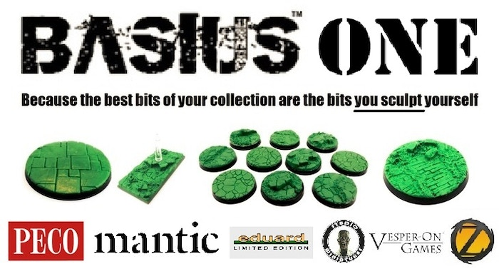 Basius started life as a set of 6 inch round 'base shaped' basing pads. Because of its ultra detailed sculpting and ease of use it quickly became Kickstarter's most popular Stamp System for bases, scenery & other creative works...