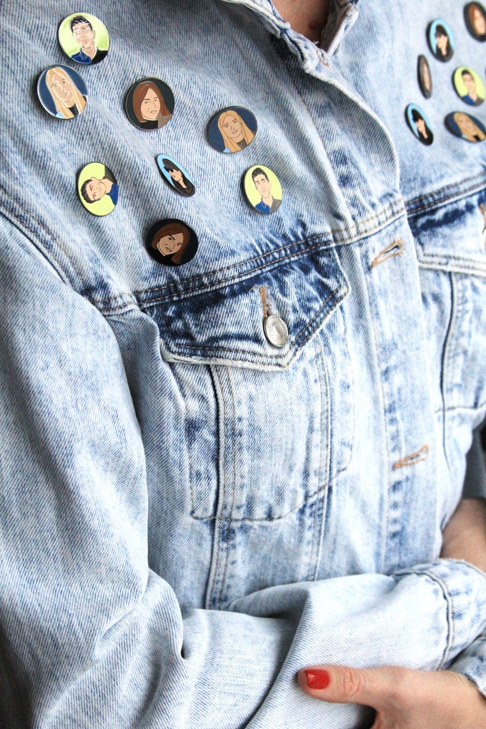 Only 100 selfie-pins will be made