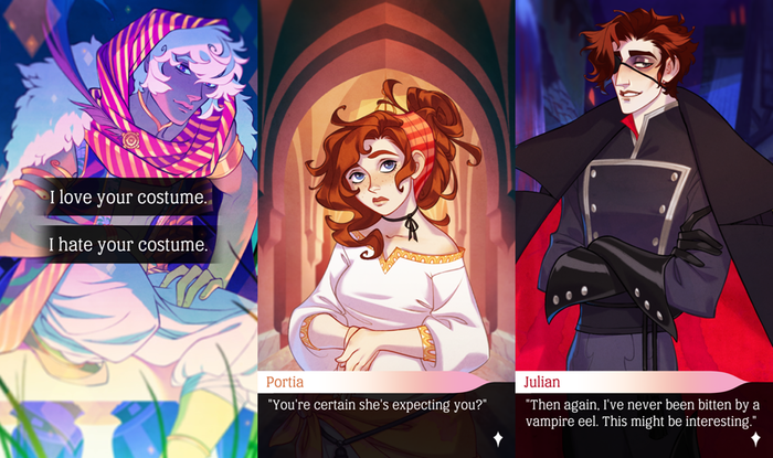 The Arcana - Visual Novel by Nix Hydra Games Inc  — Kickstarter