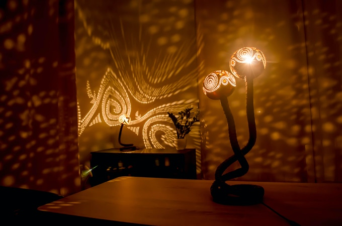 Luxury Light Piece Refreshes Your Home  Nymphs Lamp by Vainius