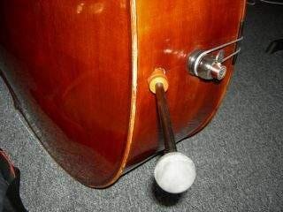 A drilled bass