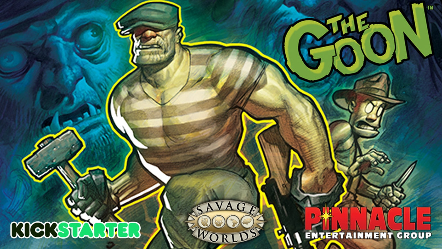A new RPG setting for Savage Worlds based on The Goon™ graphic novels from Dark Horse Comics™!
