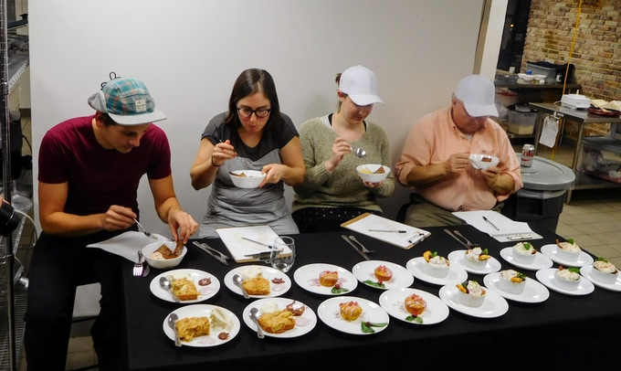 Judging the dessert round is difficult work, but someone's got to do it.  We think that someone should be you.