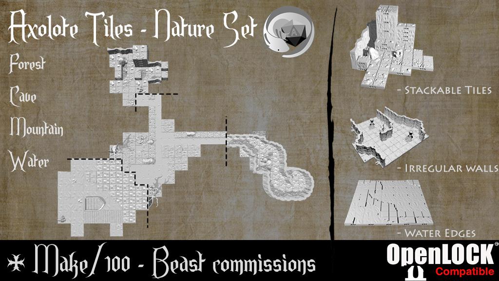Axolote Tiles - Nature Set project video thumbnail