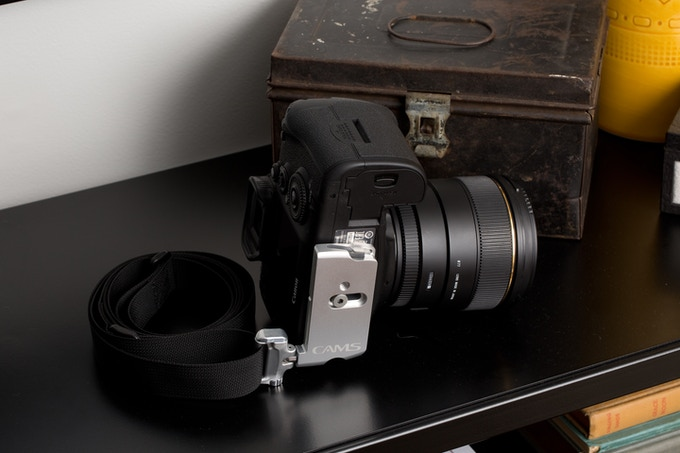 CAMS Standard Plate (Silver) and Minima Strap