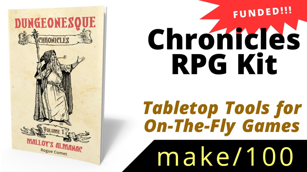 Make 100: Chronicles RPG Kit project video thumbnail