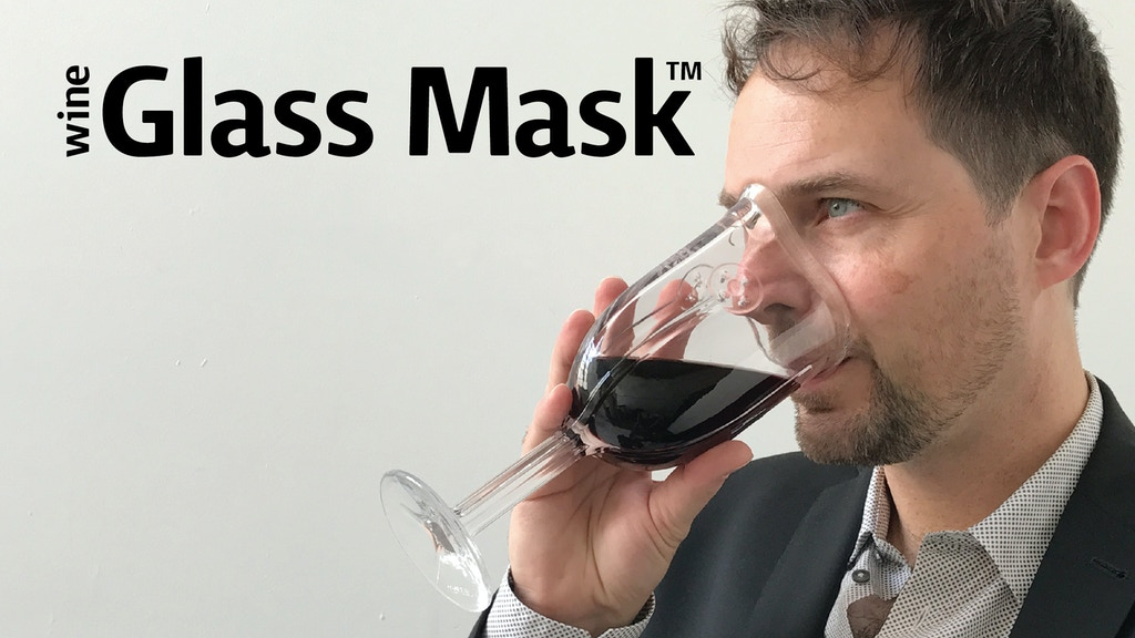 The first wine glass contoured to fit your face.