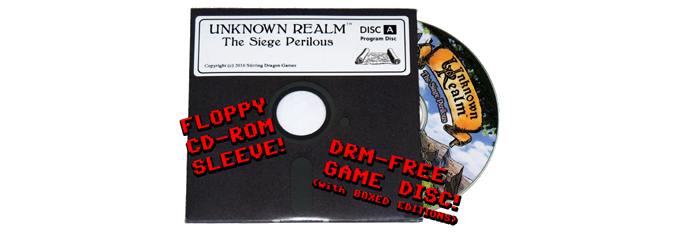 """DRM-free disc with 5.25"""" floppy-style sleeve prototype"""