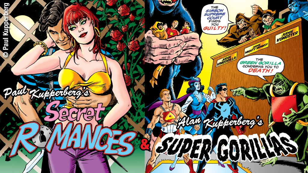 Kupperberg Komics: Secret Romances and Super Gorillas project video thumbnail