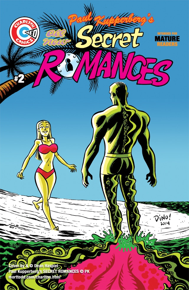 Paul Kupperberg's Secret Romances #1 with cover by Dean Haspiel