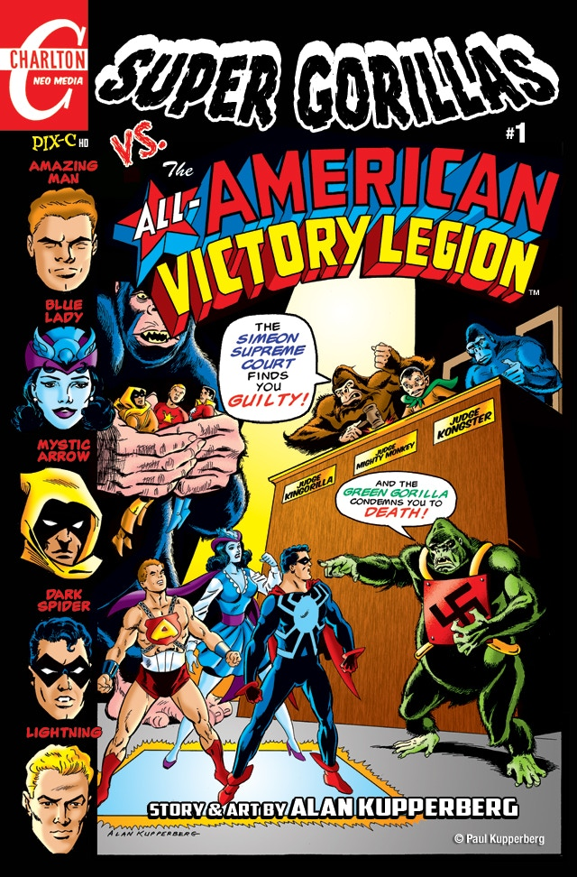SUPER GORILLAS VS. THE ALL-AMERICAN VICTORY LEGION #1