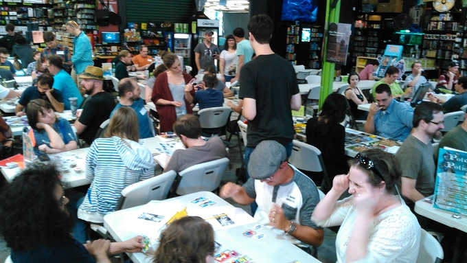With your support we will attend more gaming events to show-off the GAME-ON system!