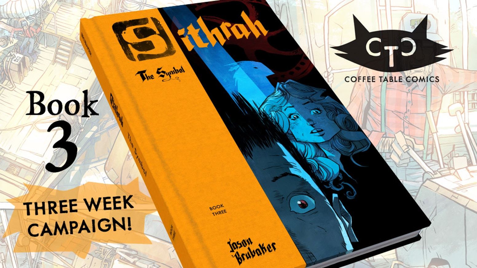 SITHRAH 3: The Symbol. This is the third installment of the beautiful hardcover comic series by Jason Brubaker.