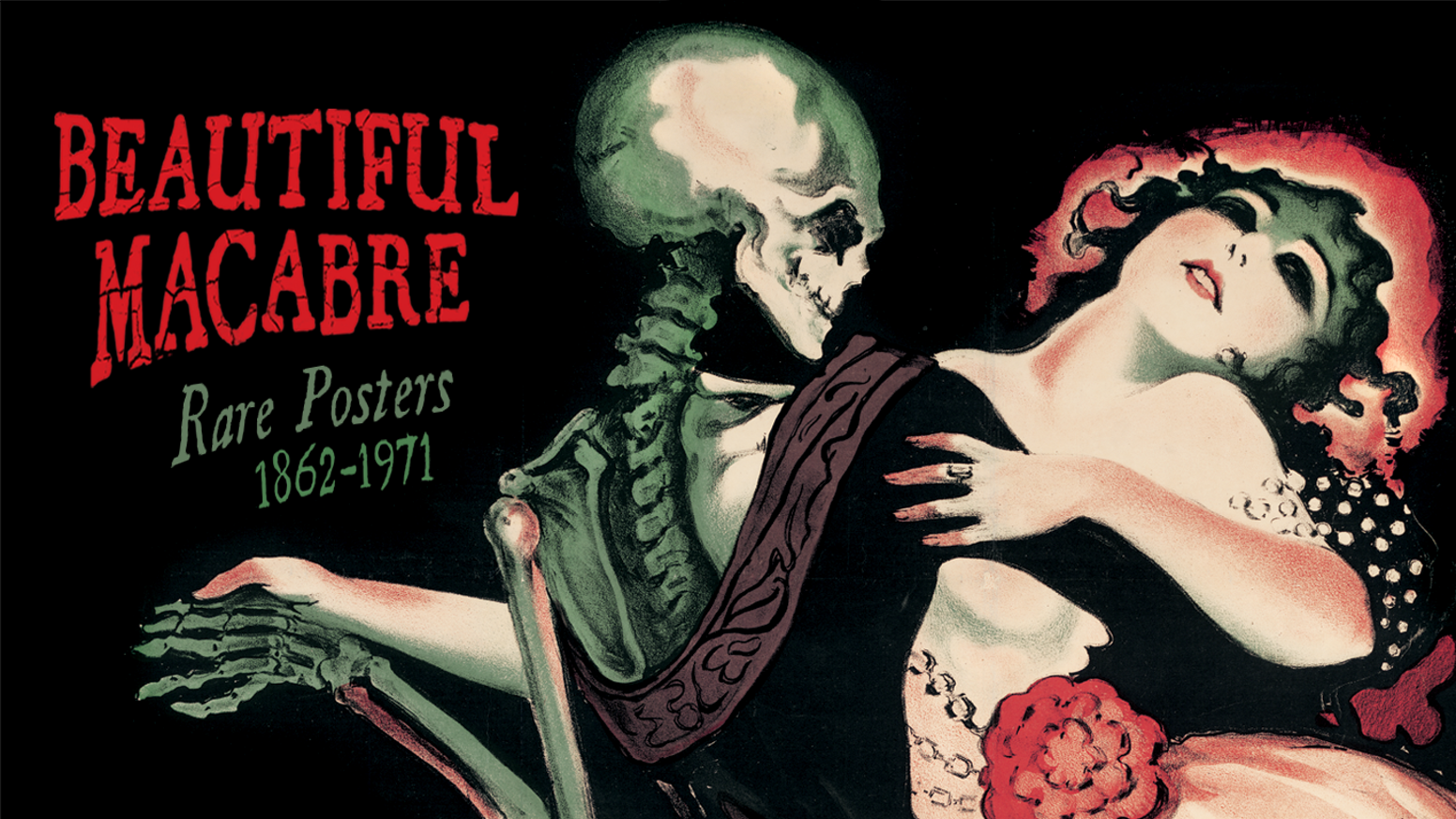 Sinister and sensual artworks from the Golden Age of Vintage Poster Art: Rare images from the Century Guild Museum of Art archives.
