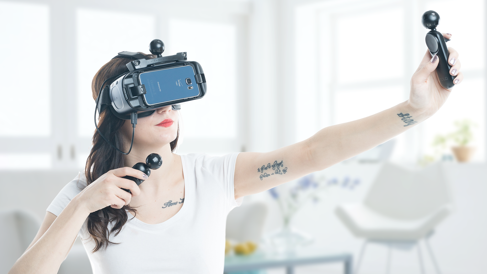 Nolo vr motion tracking for mobile and steamvr play by lisa zhao 6 dof motion tracking system front facing room scale low latency android solutioingenieria Image collections