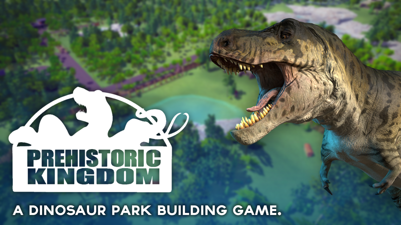 Prehistoric Kingdom is a zoo building simulator game focused on the creation and management of a theme park filled with extinct animals.