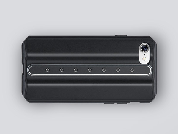 Sturdy semi-rugged case: extra iPhone protection. Integrated Rail Mounting System: securely mounting detachable add-on attachments