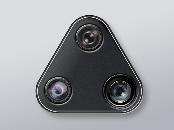 3 in 1 twist lens: high quality rotational Fisheyes, 0.67 Wide and 2x Telephoto lens