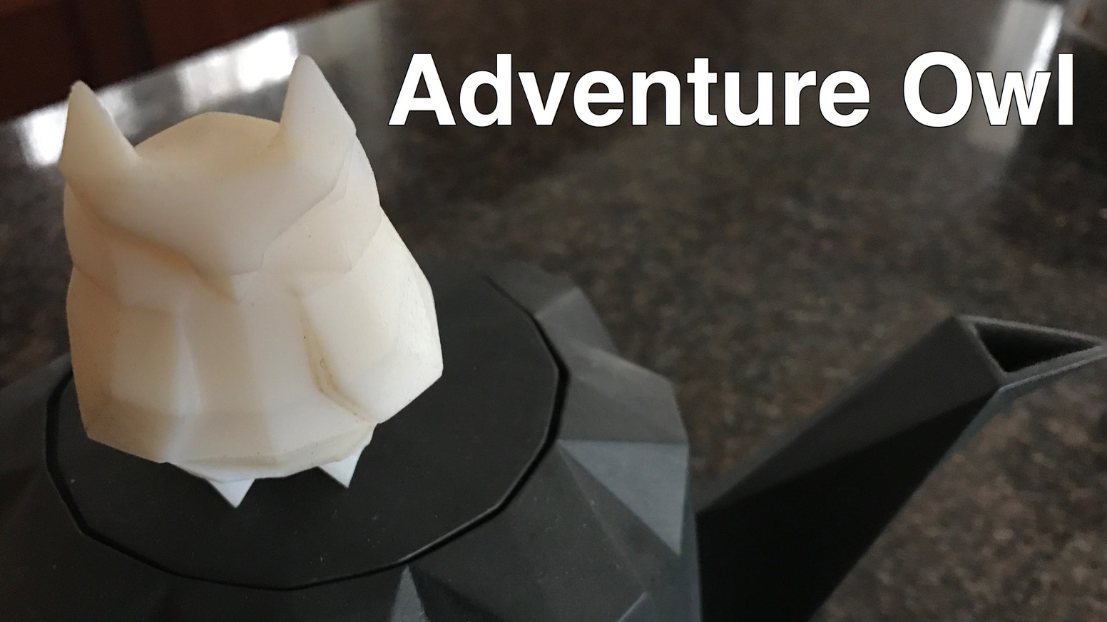 Adventure Owl wants to see the world and go on adventures with you. This kickstarter is over, but we will have adventure owls for sale at bre.co in the near future if you missed out.