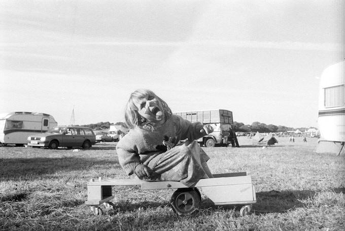 ClownGirl Harvest Fayre Cilgerran Wales 94