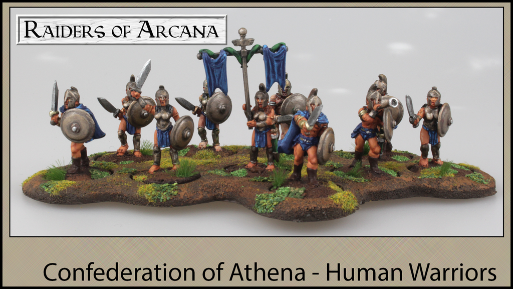 Project image for Raiders of Arcana - Human Warriors