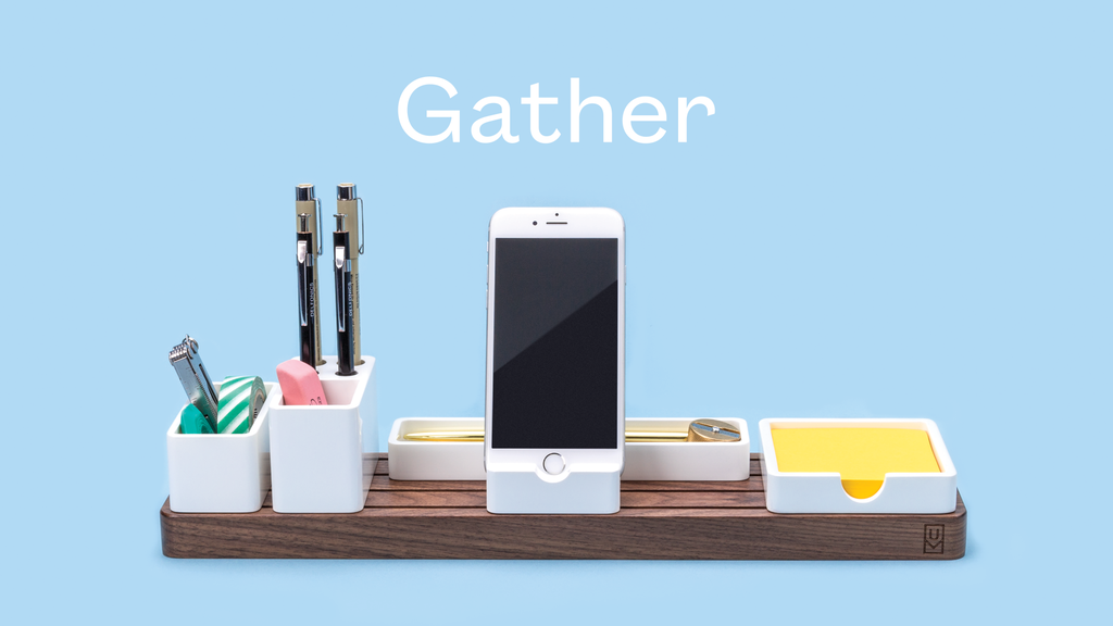 Gather: The minimal, modular organizer that cuts clutter project video thumbnail
